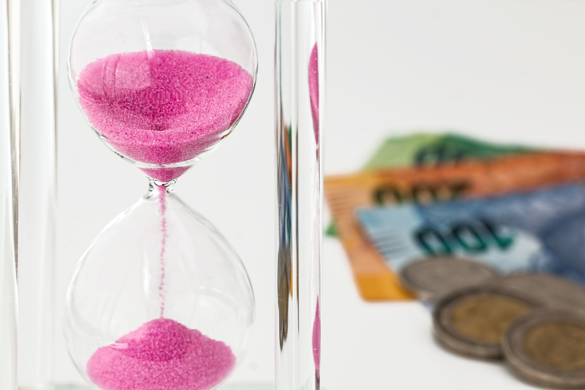 hourglass time money hack